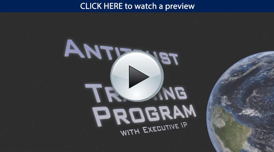 antitrust laws video training program